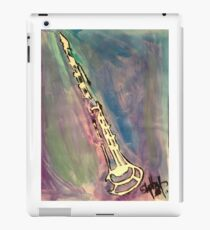 Clarinet in water color iPad Case/Skin