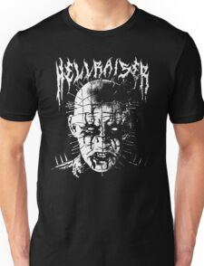 Black Metal Pinhead Unisex T-Shirt
