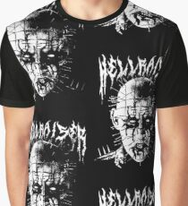 Black Metal Pinhead Graphic T-Shirt