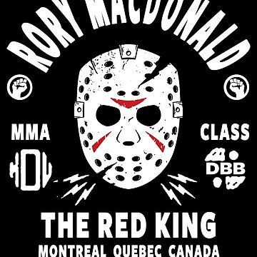 Rory Macdonald The Red King by FightZoneUltra