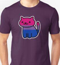 Neko Pride: Bisexuel T-shirt unisexe