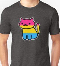 Camiseta unisex Neko Pride: Pansexual