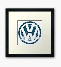 VW The Witty Framed Print
