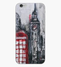 London Red Phone Box iPhone Case