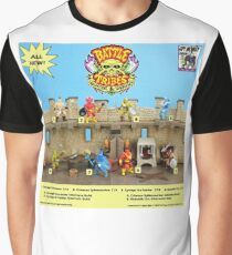Battle Tribes Retro Catalog Graphic T-Shirt