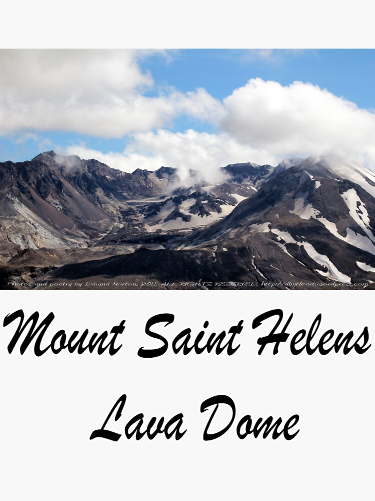 Mount St Helens lava dome 2 by DlmtleArt