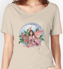 Celtic Rose Fairy Women's Relaxed Fit T-Shirt