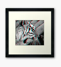 raw Framed Print