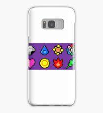 Kanto League Pokemon Master Badges  Samsung Galaxy Case/Skin