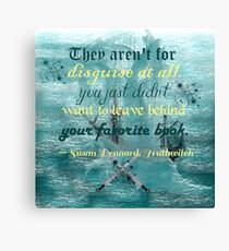 Truthwitch - Favorite Books Canvas Print
