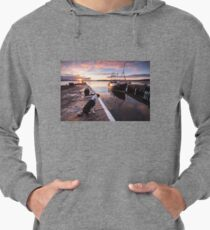Sunset in Inverness, Scotland Lightweight Hoodie