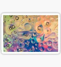 Funky Bubbles for Vibrant Textile and Decorative Wall Art Prints Sticker