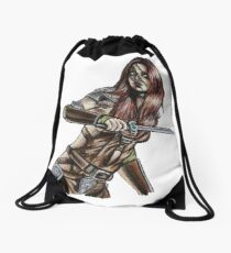 The Elder Scrolls- Skyrim- Aela The Huntress Drawstring Bag