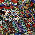 Scenes from an african market by Anthony Goldman