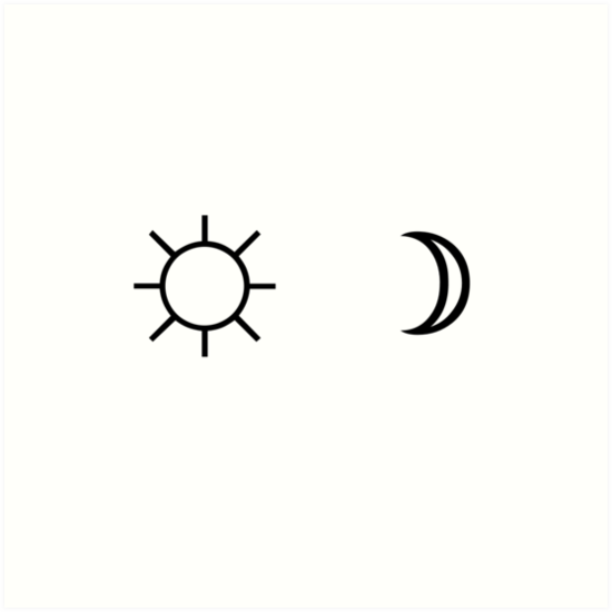 moon and sun tumblr transparent wwwpixsharkcom