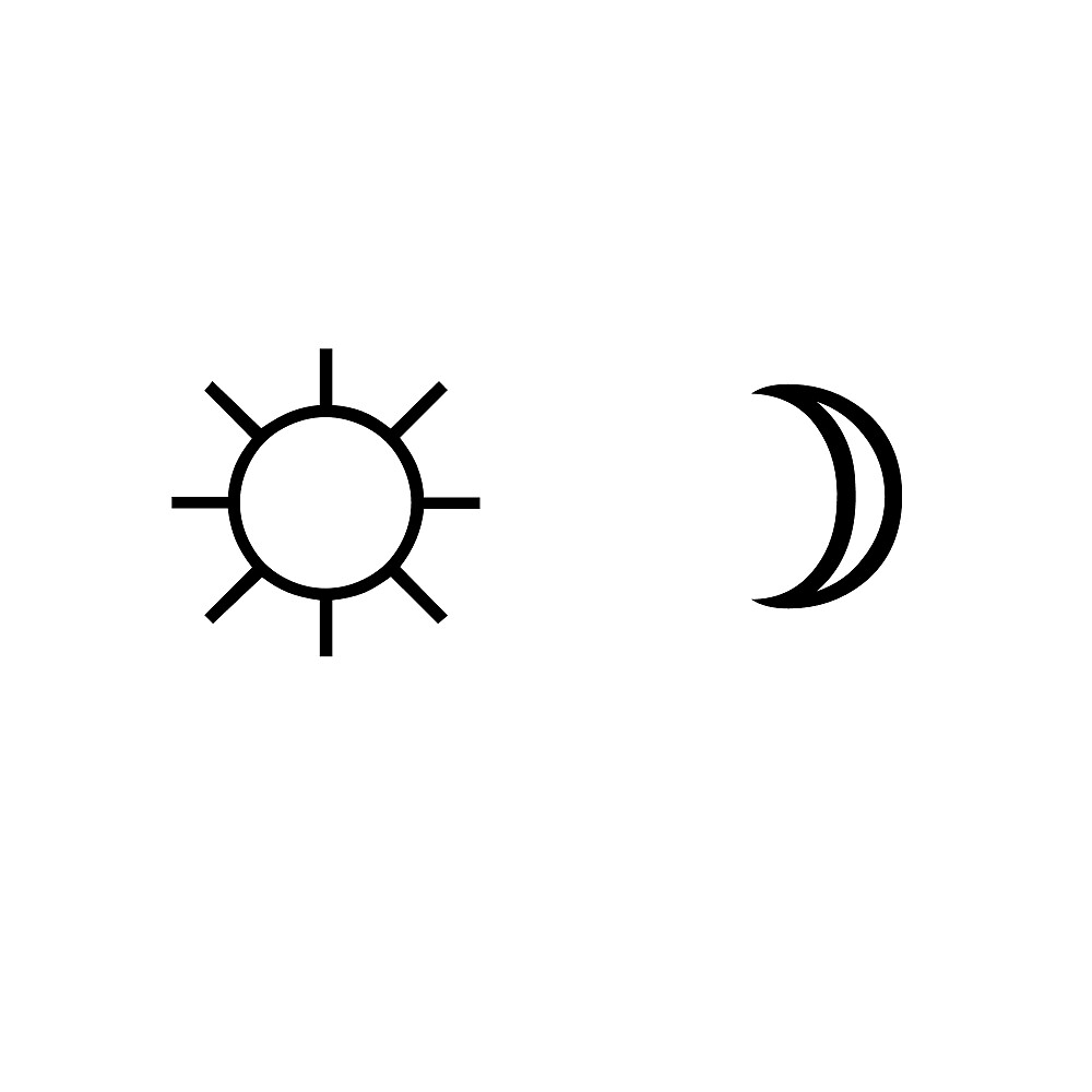 Quot Sun And Moon Minimalist Aesthetic Black And White Tumblr