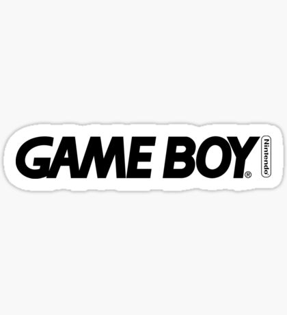 gameboy logo Sticker