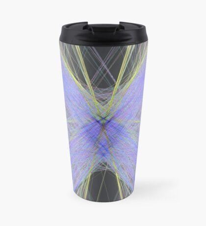 Violet Butterfly Travel Mug
