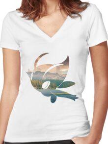 Celebi #251 Women's Fitted V-Neck T-Shirt