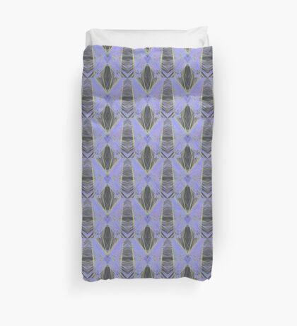 Violet Butterfly Duvet Cover