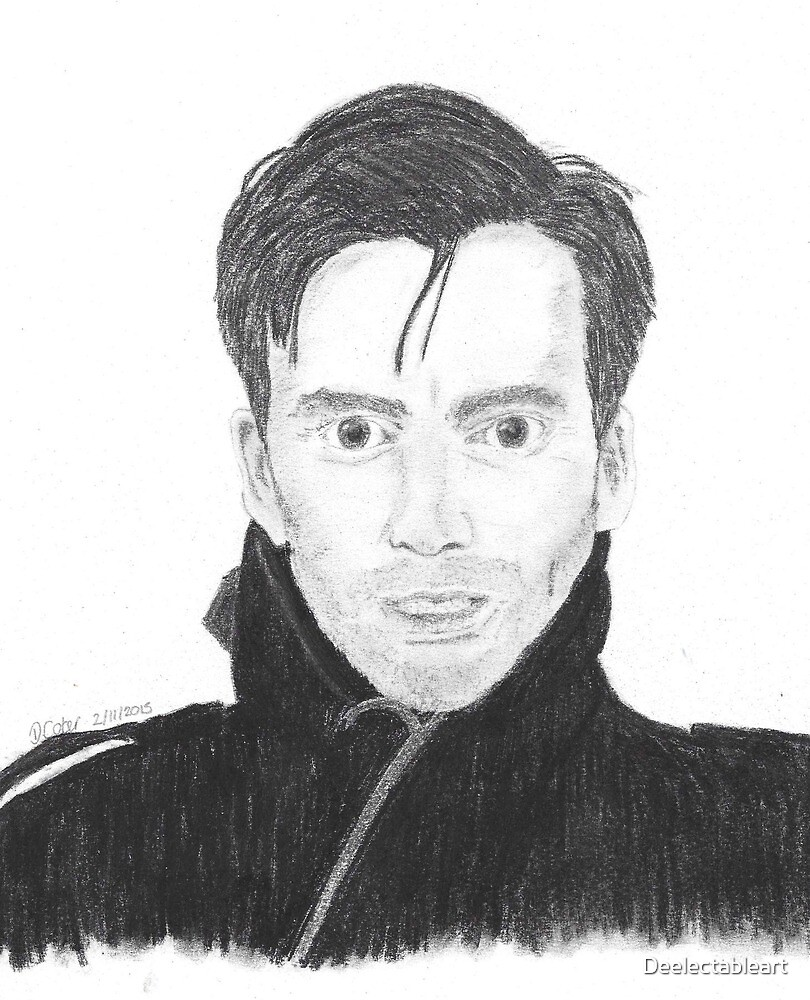 David Tennant  by Deelectableart