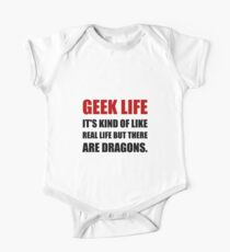 Geek Life Dragons Kids Clothes