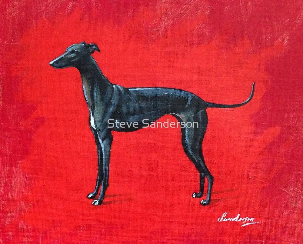 Black Greyhound by Steve Sanderson