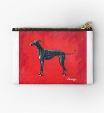 Black Greyhound Studio Pouch
