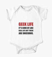 Geek Life Unicorns One Piece - Short Sleeve