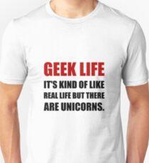 Geek Life Unicorns T-Shirt
