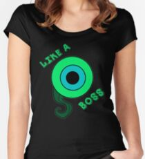 Like a Boss ! (Jacksepticeye) Women's Fitted Scoop T-Shirt
