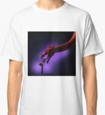 Greeting the Year of the Dragon Classic T-Shirt