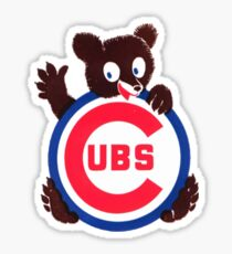Vintage Chicago Cubs Logo Sticker