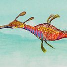 Weedy Sea Dragon by Ray Cassel