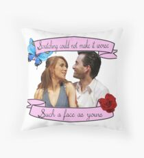 Beatrice and Benedick- True Love Throw Pillow