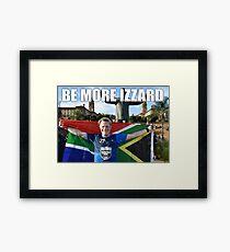 EDDIE IZZARD MARATHON MAN Framed Print