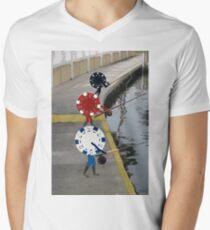 Fish 'n Chips Men's V-Neck T-Shirt