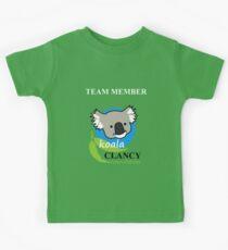 Koala Clancy Foundation Team Member Kids Clothes