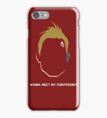 Axton the Commando iPhone Case/Skin