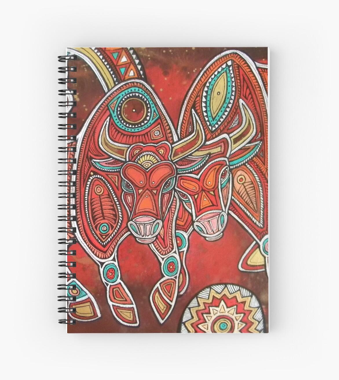 Two Bulls  by Lynnette Shelley