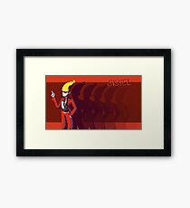Ghost Trickery Framed Print