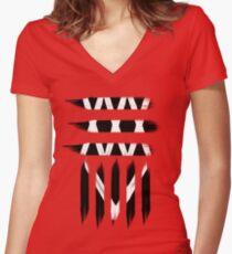 35XXXV - ONE OK ROCK Women's Fitted V-Neck T-Shirt