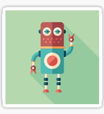 Robot Tailor Sticker
