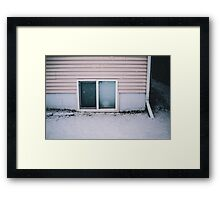 Traced Lines Framed Print