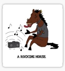 ROCKING HORSE Sticker