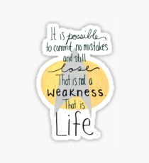 This is Life. (Gray) Sticker