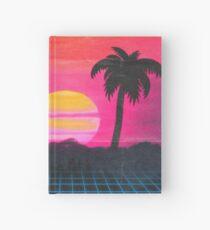 Retro coucher de soleil 2 Carnet cartonné