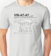 VW Westfalia AT-AT T3 Joker Blueprint Unisex T-Shirt