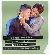 Damn Cockles Poster