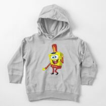 That's His Eager Face - Spongebob Toddler Pullover Hoodie